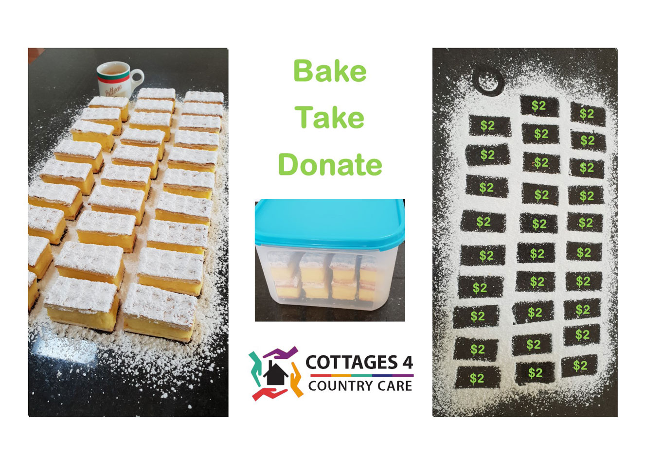 Bake Take Donate image